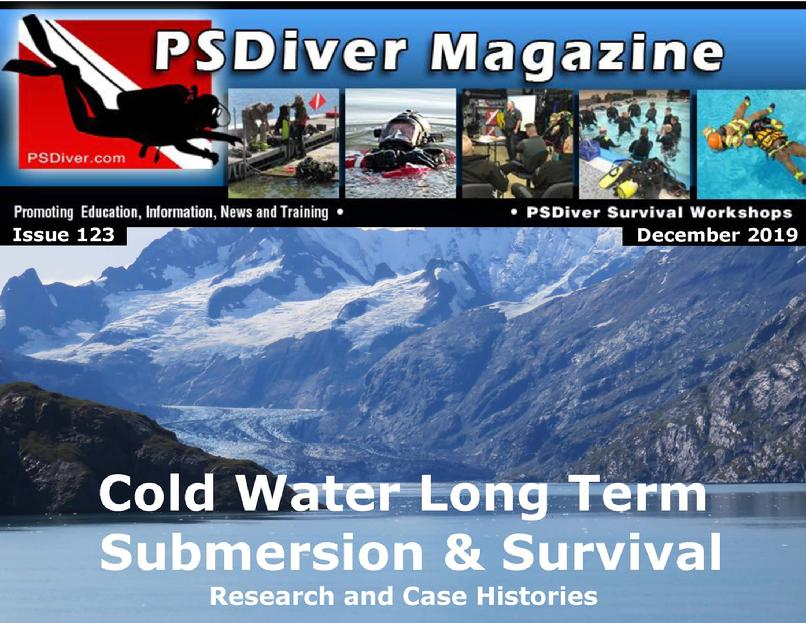 Cold Water Near Death Drowning Survival Underwater Cold Ice